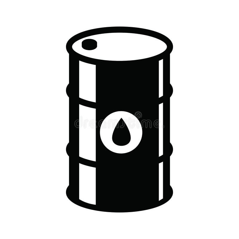 Barrel icon stock illustration