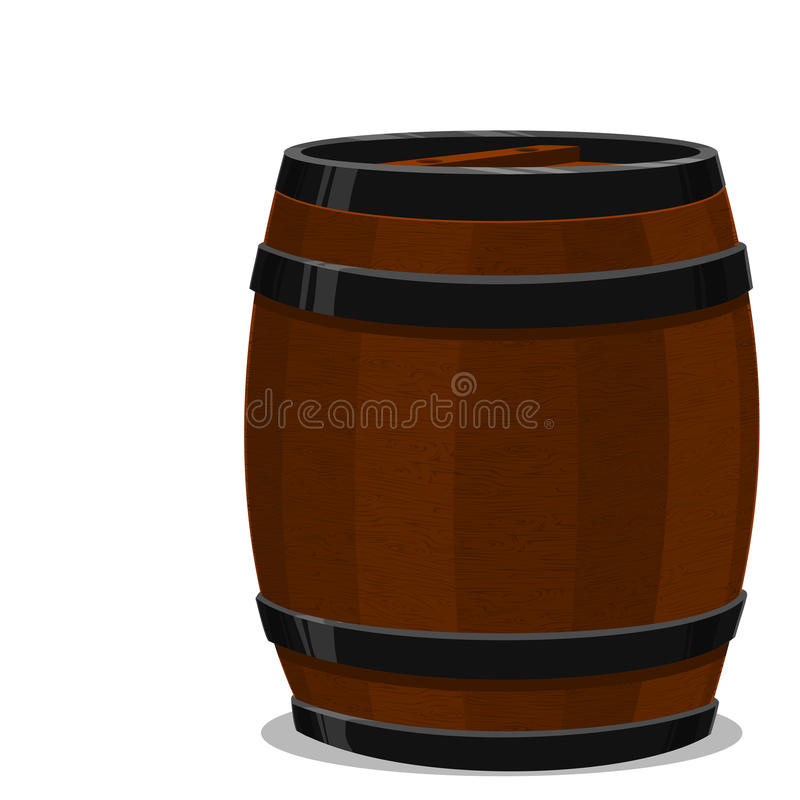 Barrel stock illustration