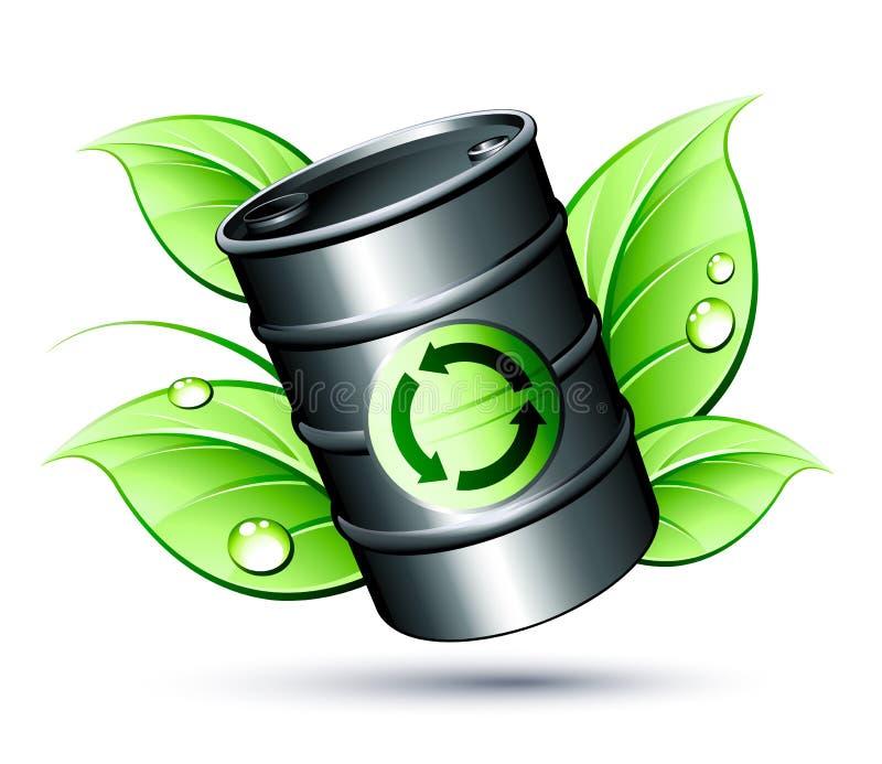 Barrel of Petrol stock illustration