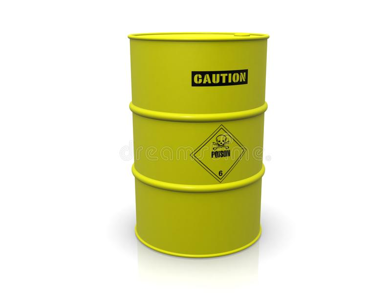 Download Barrel With Poison Royalty Free Stock Photography - Image: 14204947