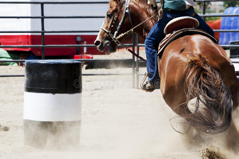 Download Barrel Racing stock photo. Image of show, tight, turn - 19953302