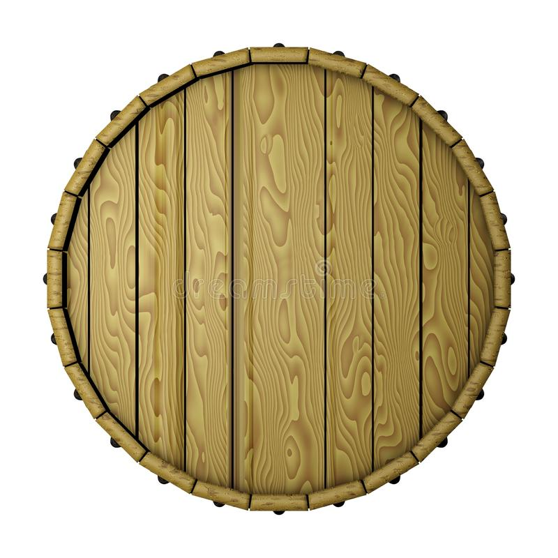 Barrel top royalty free illustration