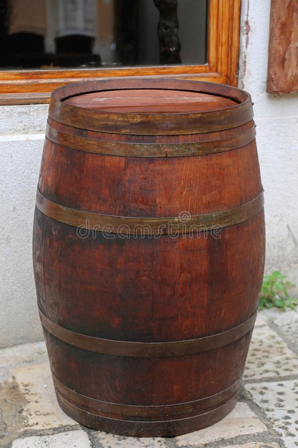 barrel tr? royaltyfri bild