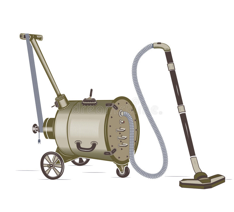 Free Barrel Vacuum Cleaner Royalty Free Stock Photos - 78381668