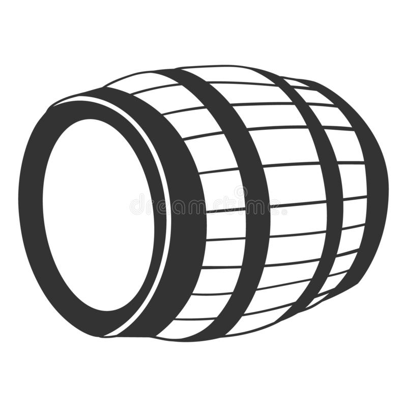 Barrel vector eps Hand drawn Crafteroks svg free, free svg file, eps, dxf, vector, logo, silhouette, icon, instant download, digit. Barrel vector eps, Hand drawn royalty free illustration