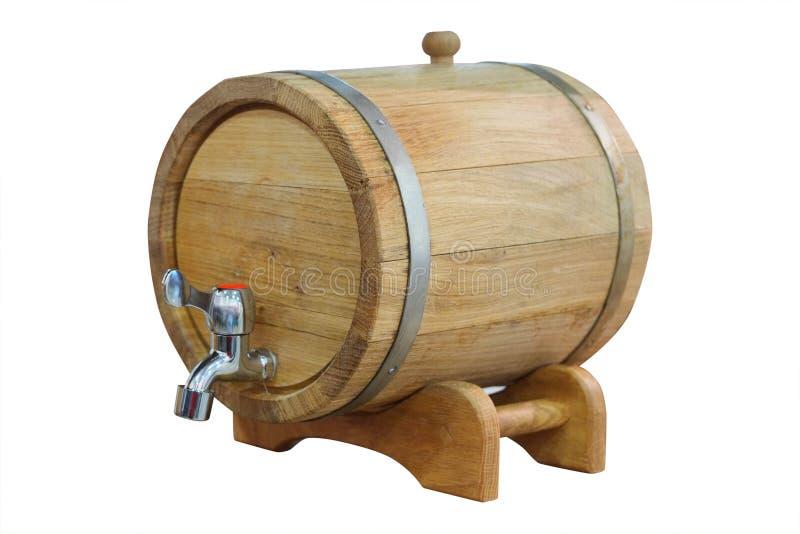 Barrel of wine royalty free stock photos