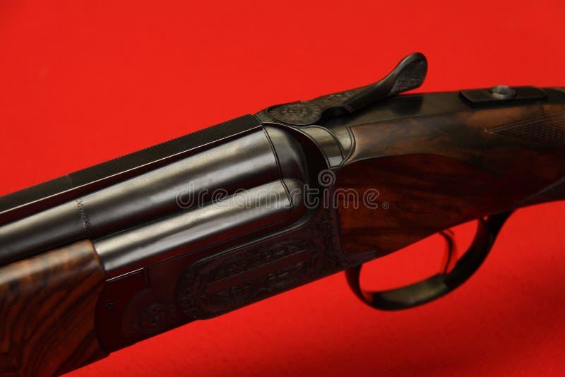 barrelled двойная пушка стоковая фотография rf