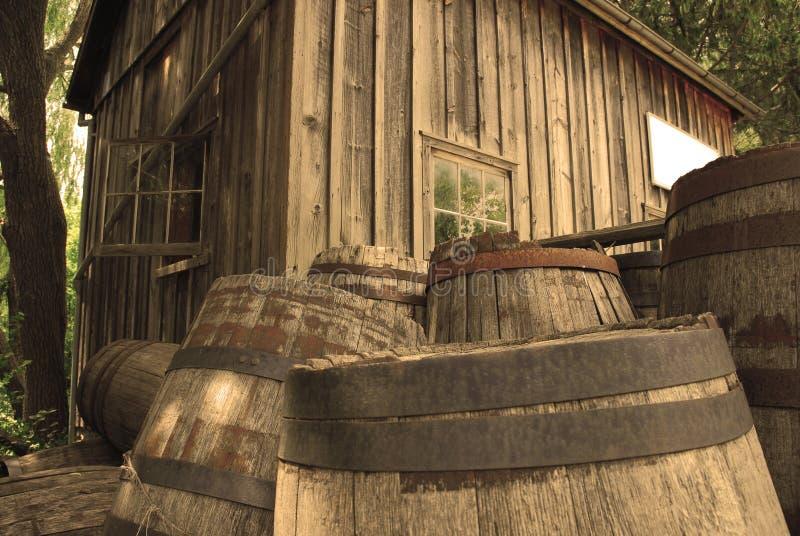 barrels виски стоковые изображения