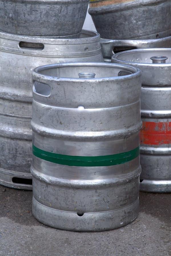 barrels пиво стоковое изображение
