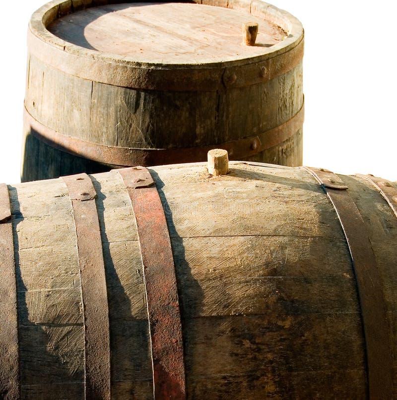 barrels старая стоковая фотография rf