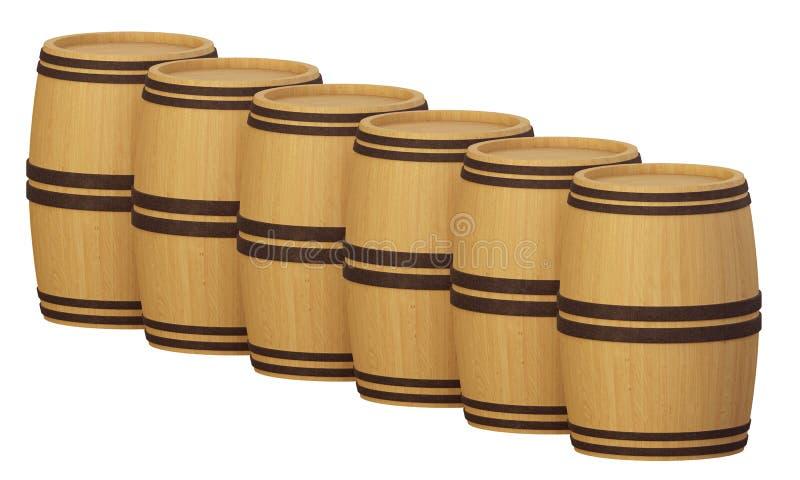 Barrels2 ilustracja wektor