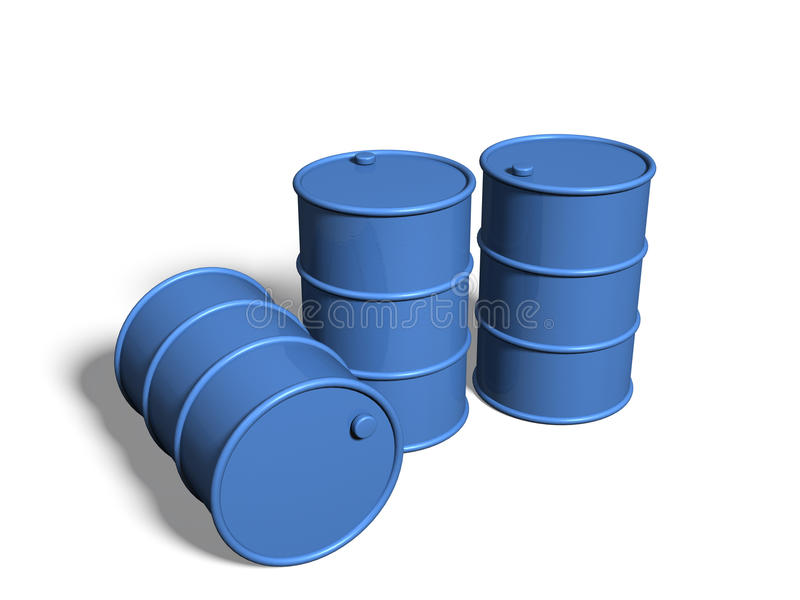 Download Barrels stock illustration. Image of chemical, container - 18752211