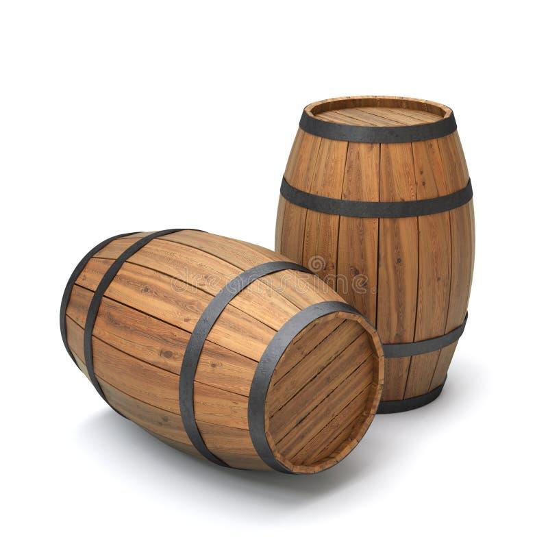 Download Barrels stock illustration. Image of vintage, stock, cask - 25047686