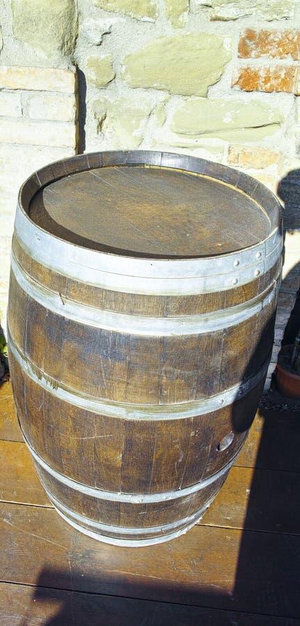 barrels trä royaltyfria bilder