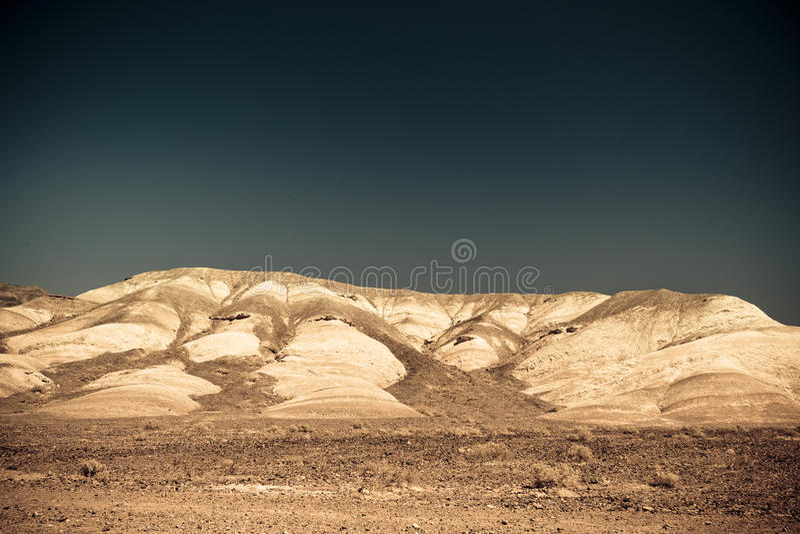 Barren land like Mars. Dry & barren land terrain like Mars stock photos