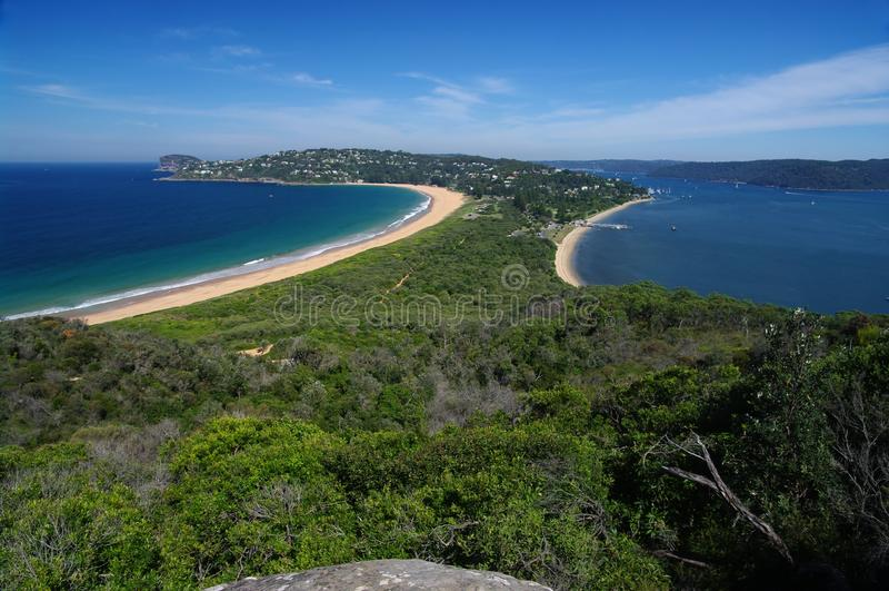 Download Barrenjoey stock photo. Image of coast, water, landscape - 14976126