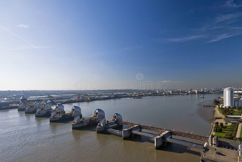 Barrera de Thames imagen de archivo libre de regalías
