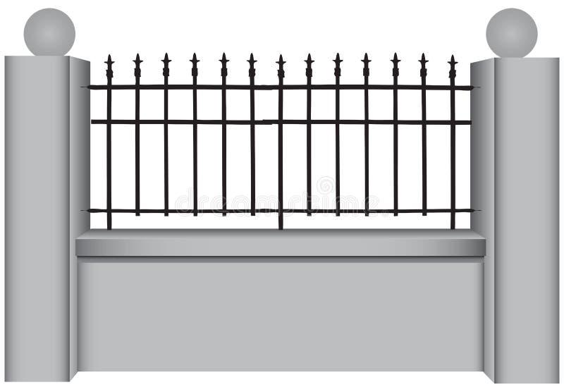 Barres d'acier classiques illustration stock