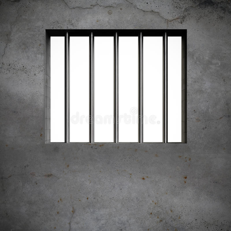 Barres de prison illustration libre de droits