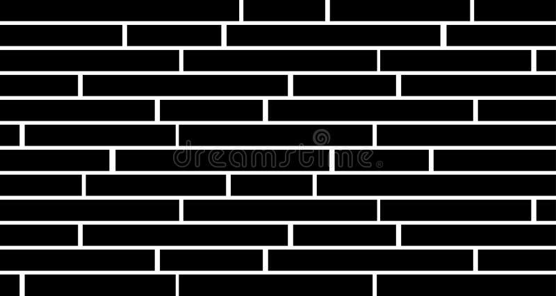 Barres noires à l'arrière-plan blanc - papier peint simple illustration libre de droits