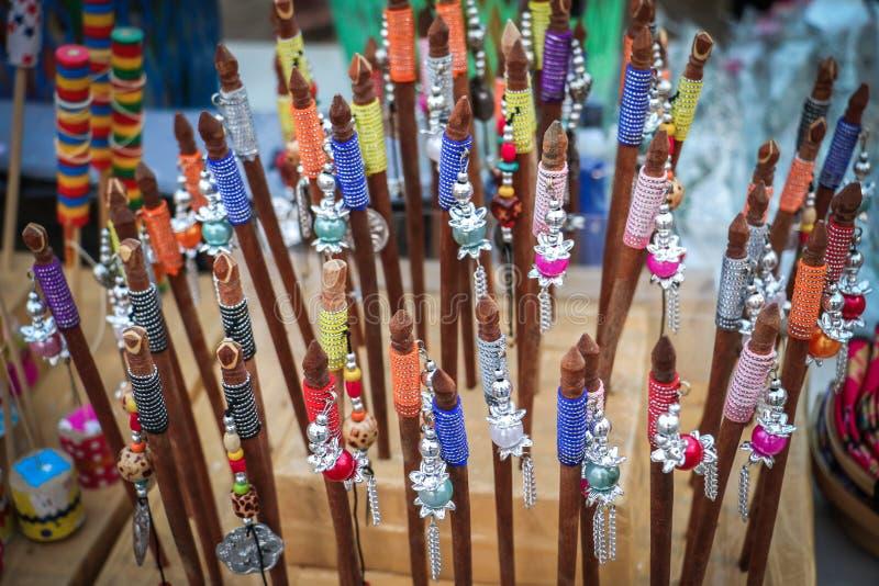 Barrette de madeira fotografia de stock