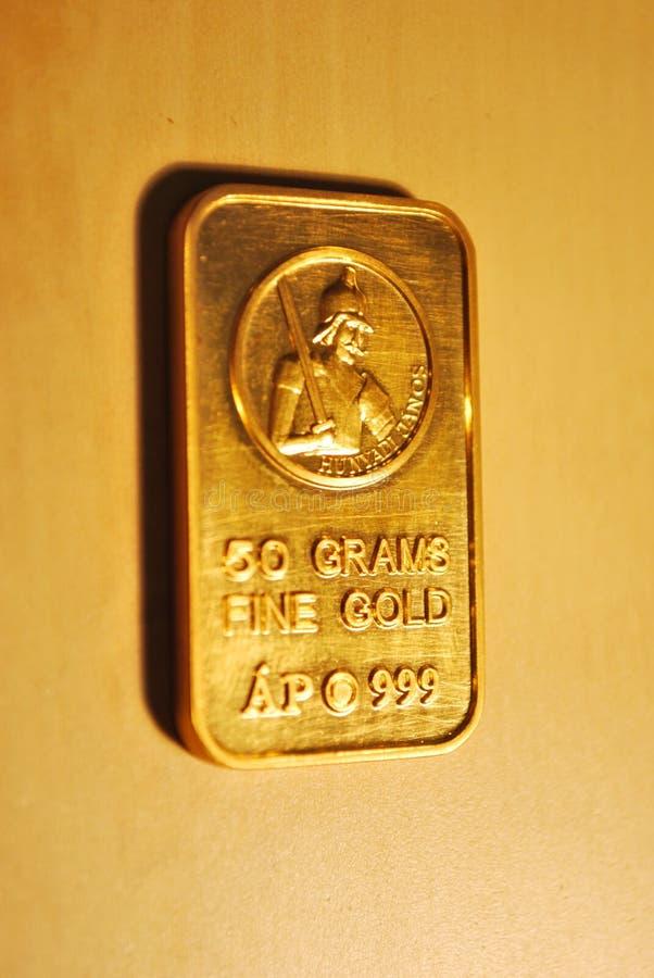 Barrez l'or photos libres de droits