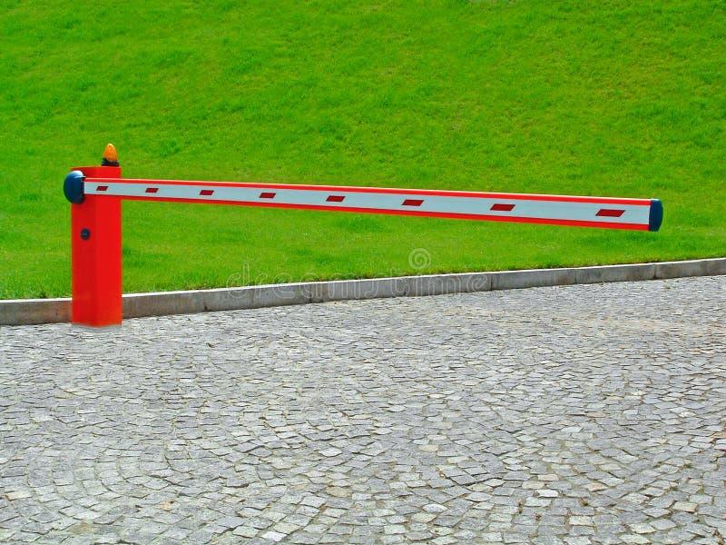 barriäringång arkivfoton
