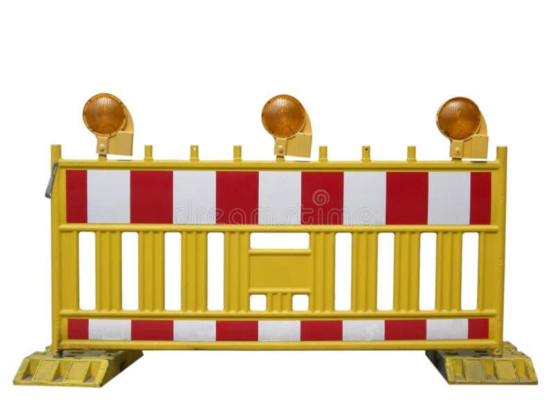 barriärväg royaltyfri fotografi