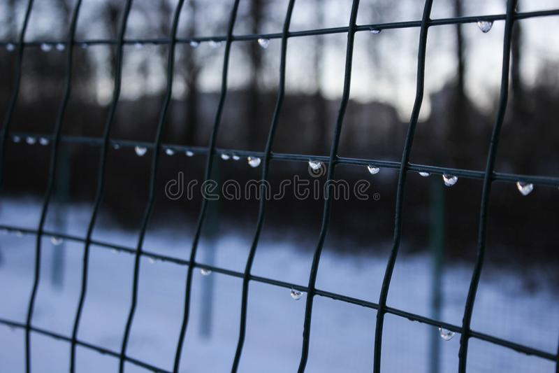Barrière-dégel image libre de droits