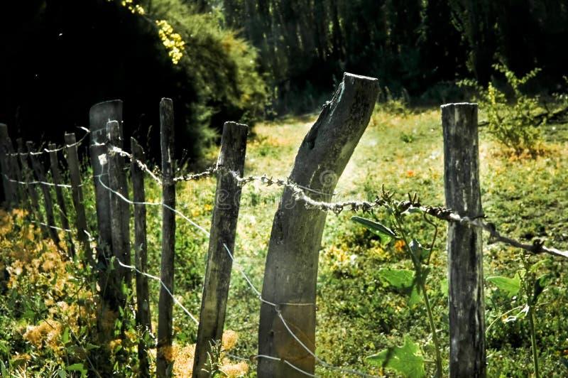 Barrière dans la vallée photos libres de droits