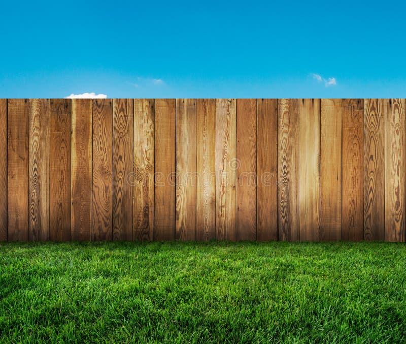 Barrière de jardin photographie stock