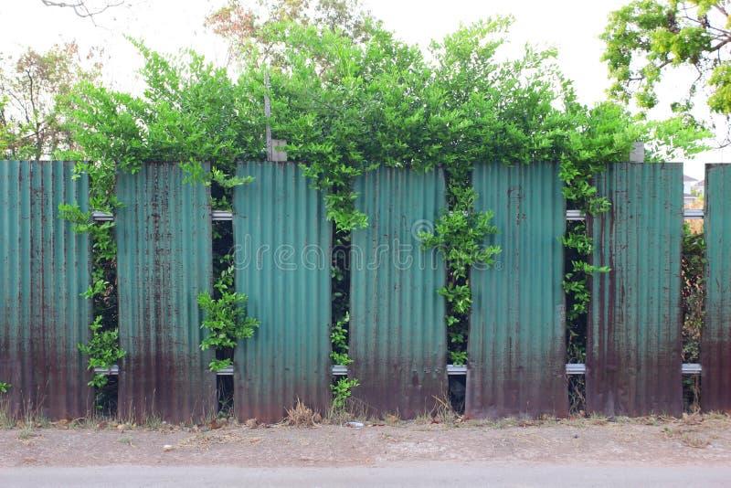 Barrière de zinc photos stock