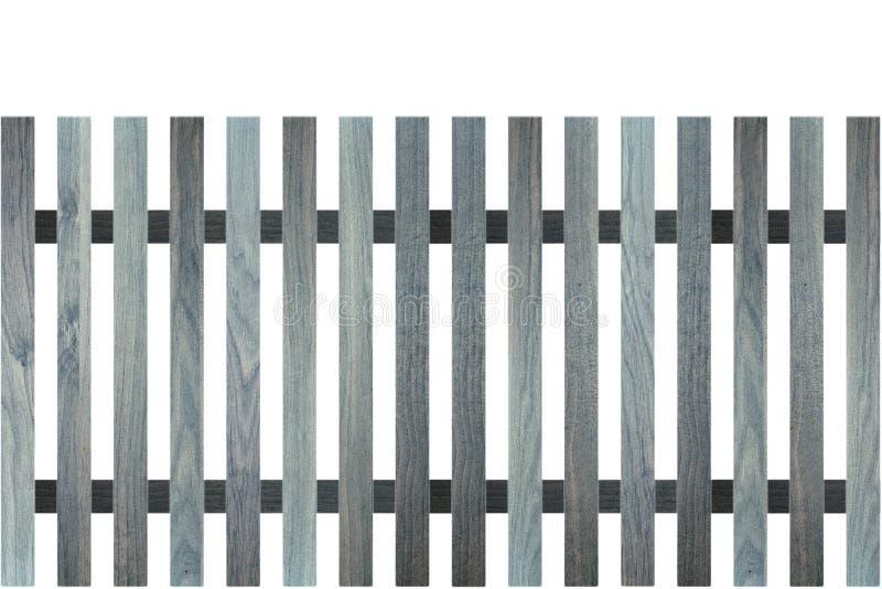 Barrière en bois bleue photographie stock libre de droits