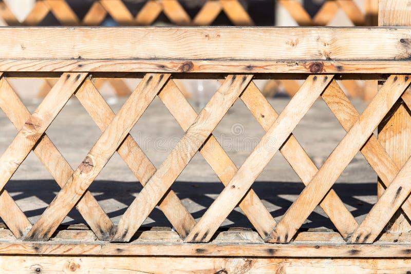 Barrière en bois comme contexte image stock