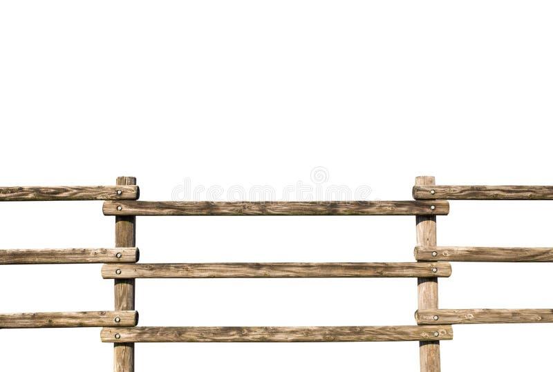 Barrière en bois grunge photo libre de droits