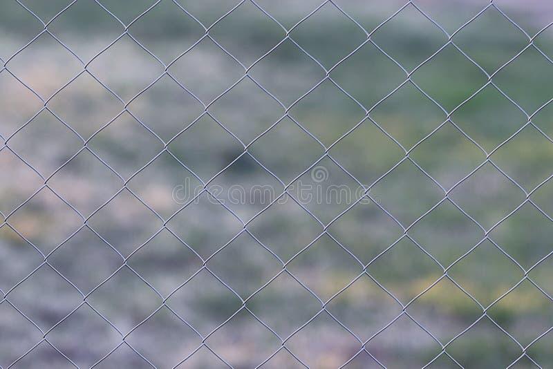 Barrière en métal de fabrication photo stock