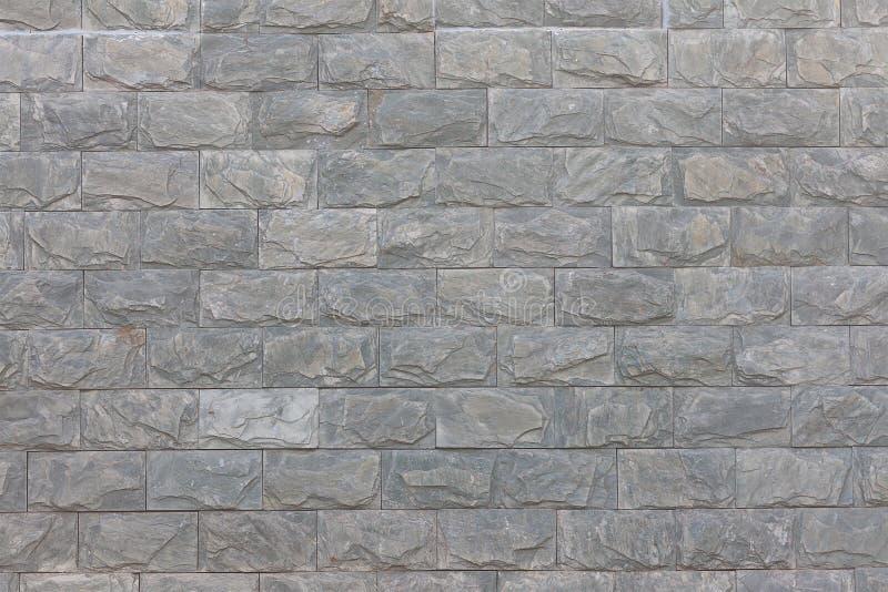 Barrière faite en pierre artificielle image libre de droits