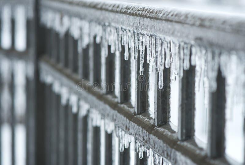 Barrière glaciale images stock