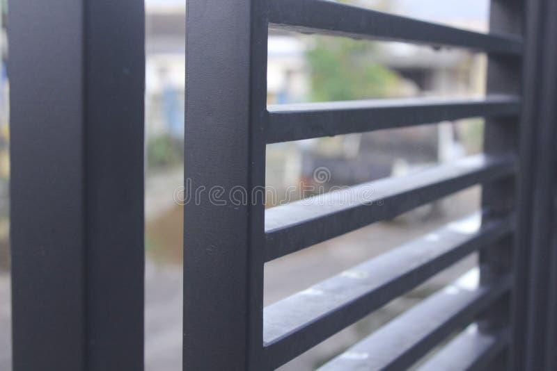 Barrière minimaliste photo libre de droits