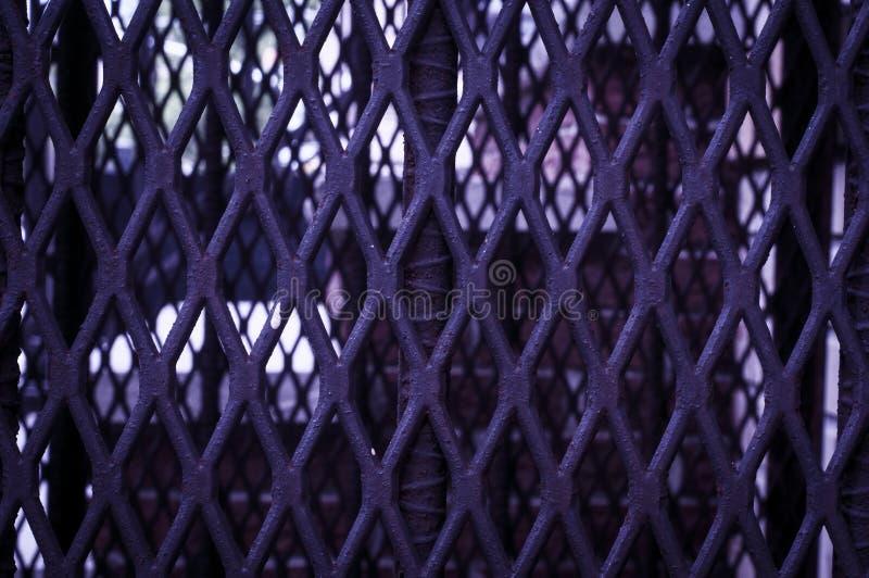 Barrière pourpre images libres de droits