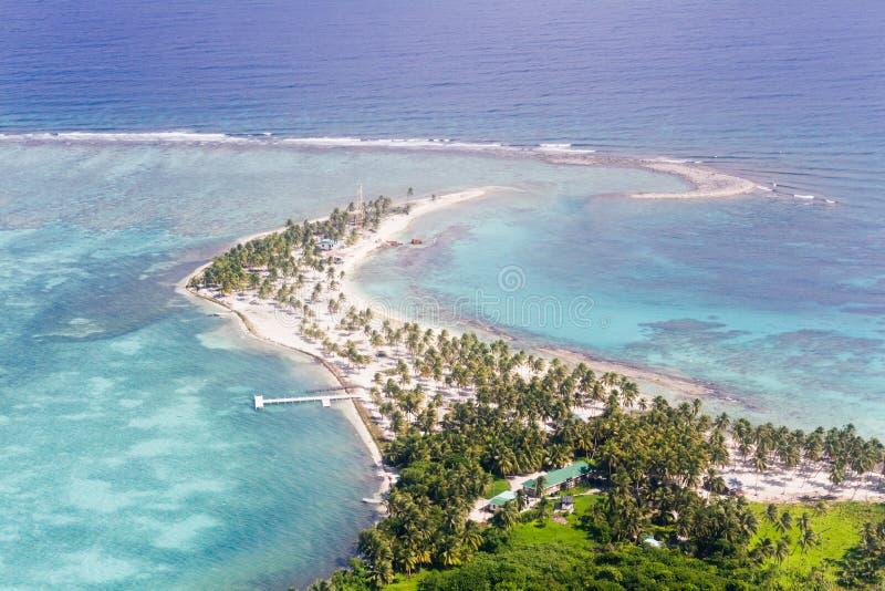 Barrièrerif in de Caraïben stock foto's