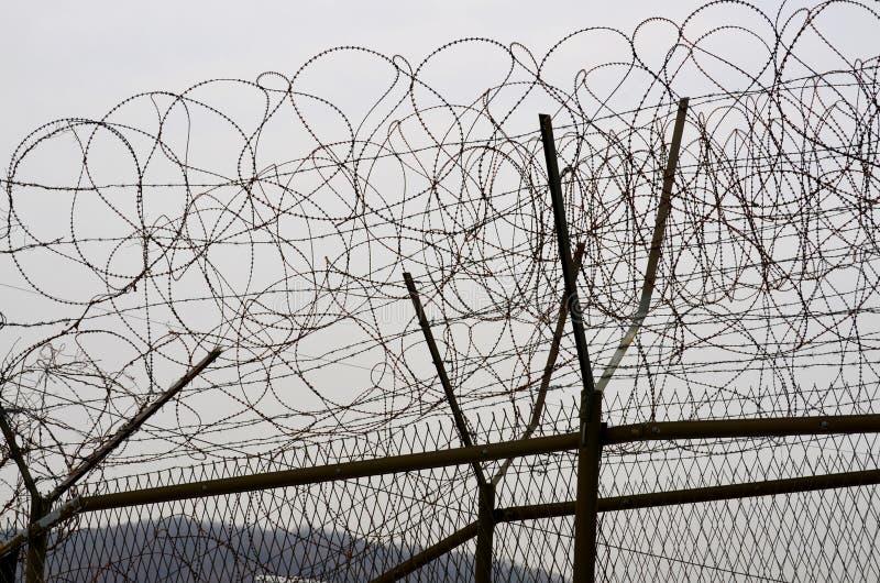 Barrières de DMZ image stock