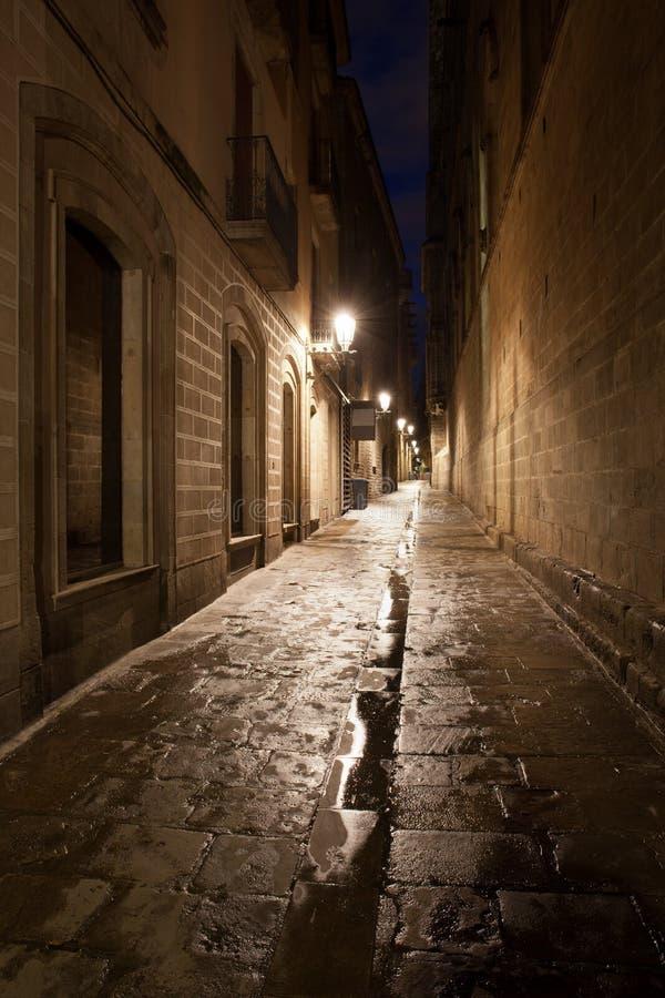 Barri Gotic in Barcelona stockfoto
