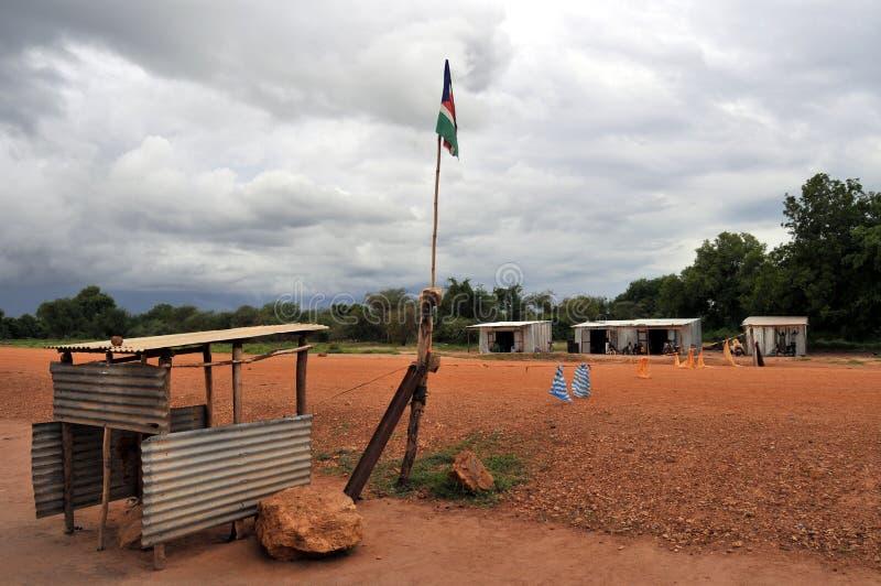 Barricada en África fotos de archivo libres de regalías