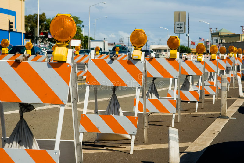 Barricadas fotos de stock