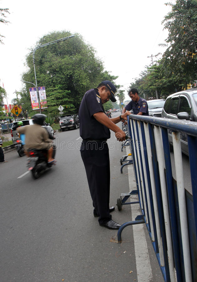 barricades foto de stock