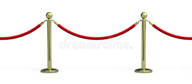 Barrie inconsútil de la cuerda libre illustration