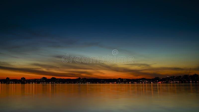Barrie Sunset fotografía de archivo