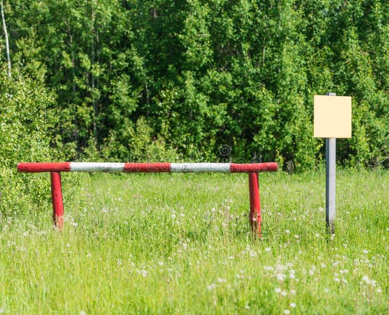 Download Barrier stock image. Image of metallic, boundary, nobody - 31368517