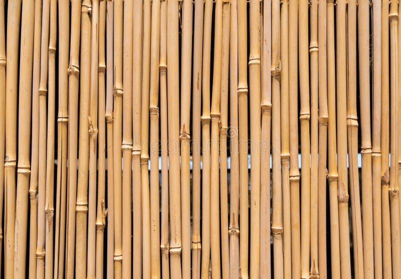 Barriera dei bastoni di bambù immagine stock libera da diritti
